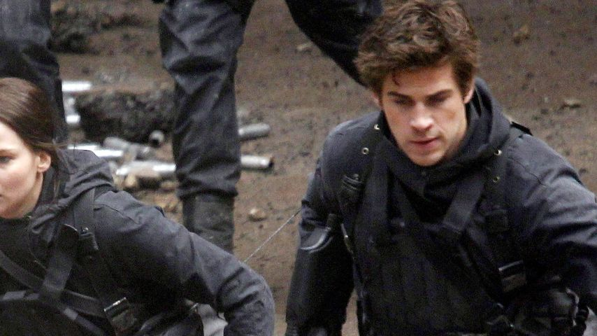 Liam Hemsworth, Hunger Games und Jennifer Lawrence