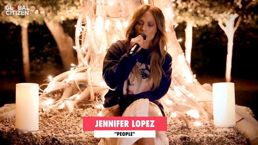 """Jennifer Lopez beim """"One World: Together At Home""""-Benefiz-Konzert"""