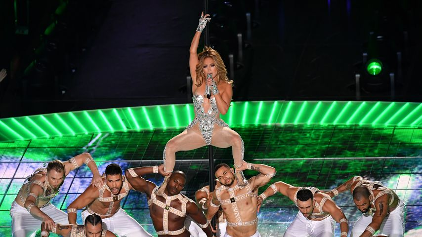 Jennifer Lopez beim Super Bowl 2020