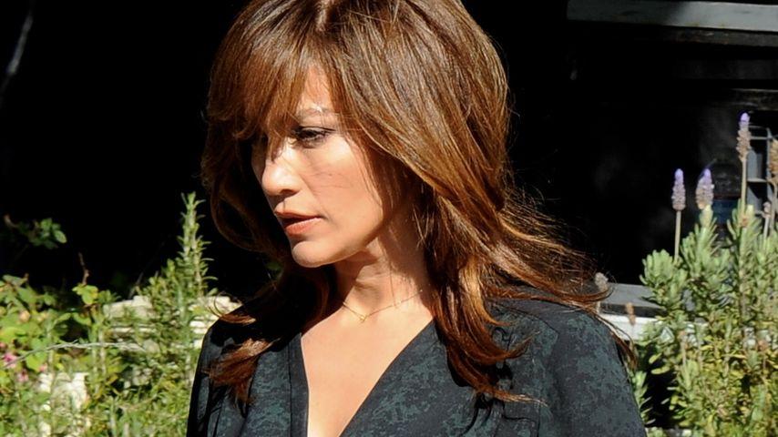 Neuer Look Jennifer Lopez Trägt Wieder Pony Promiflashde