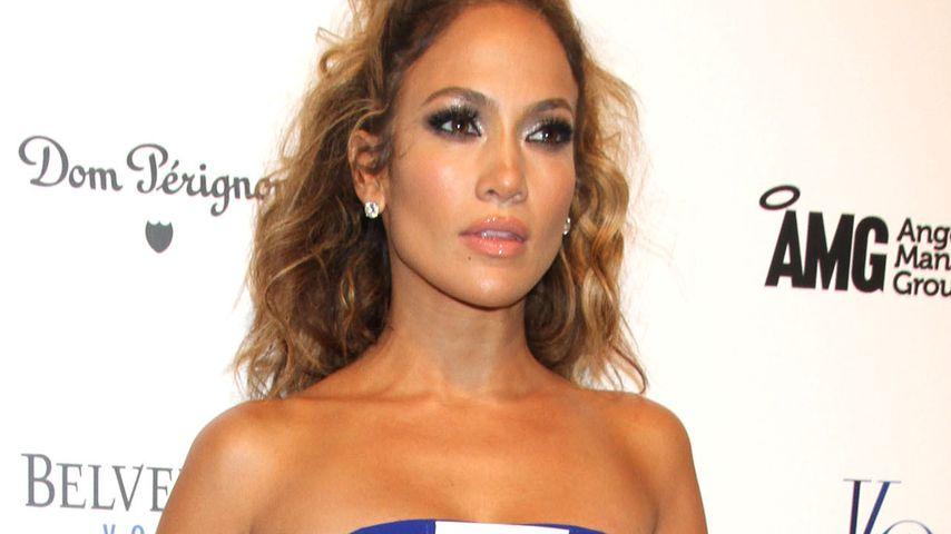 Nanu! Wo sind denn Jennifer Lopez' Kurven hin?