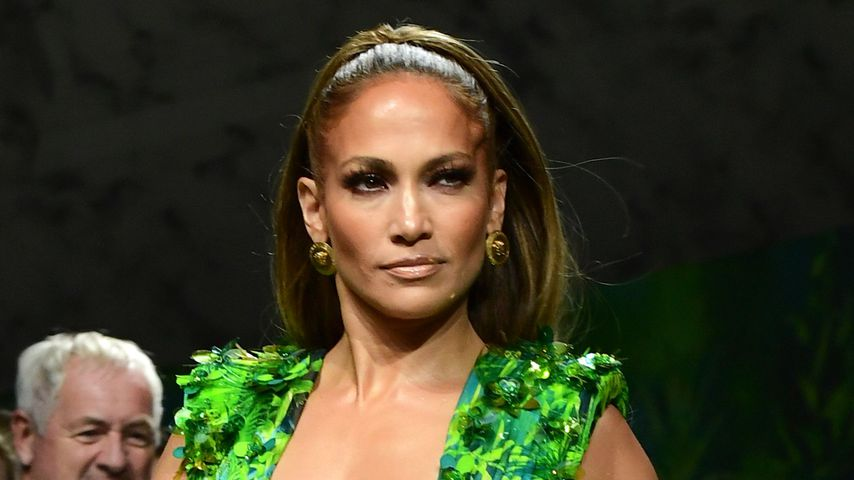 Jennifer Lopez beim Closing der Versace Fashion Show im September 2019