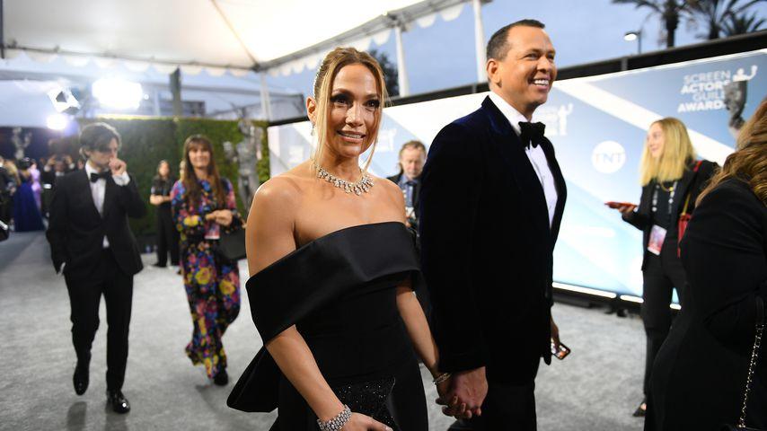 Jennifer Lopez und Alex Rodriguez, Januar 2020