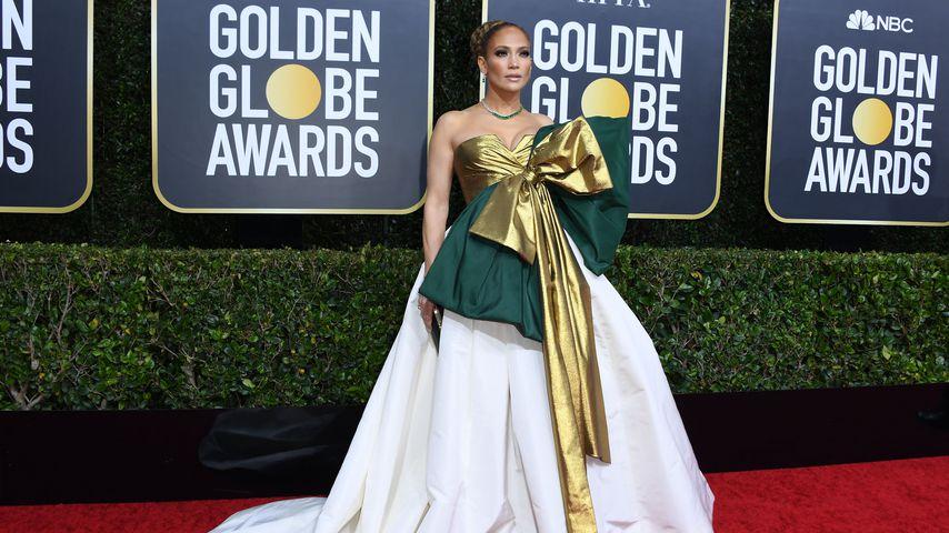 Jennifer Lopez bei den Golden Globes 2020
