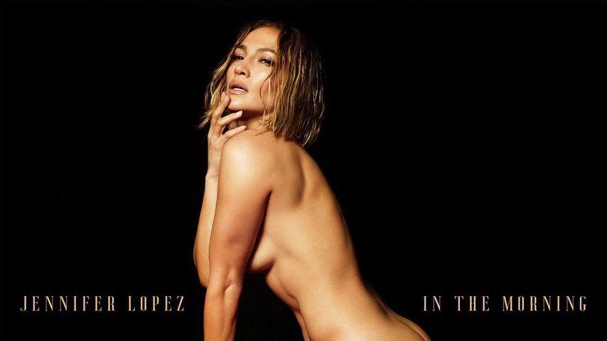 "Jennifer Lopez' Single-Cover von ""In The Morning"""