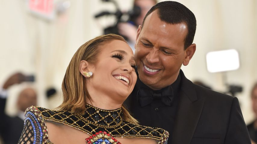 Jennifer Lopez und Alex Rodriguez im Mai 2018 in New York City