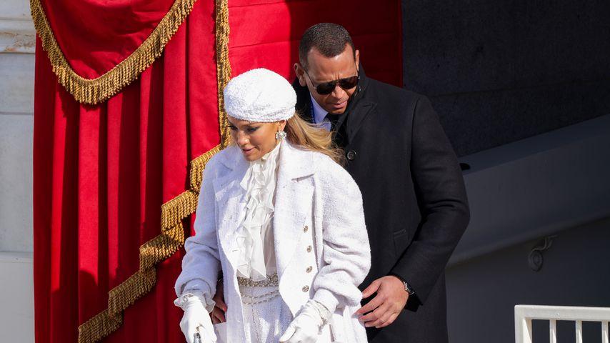 Jennifer Lopez und Alex Rodriguez bei der Vereidigung des US-Präsidenten Joe Biden