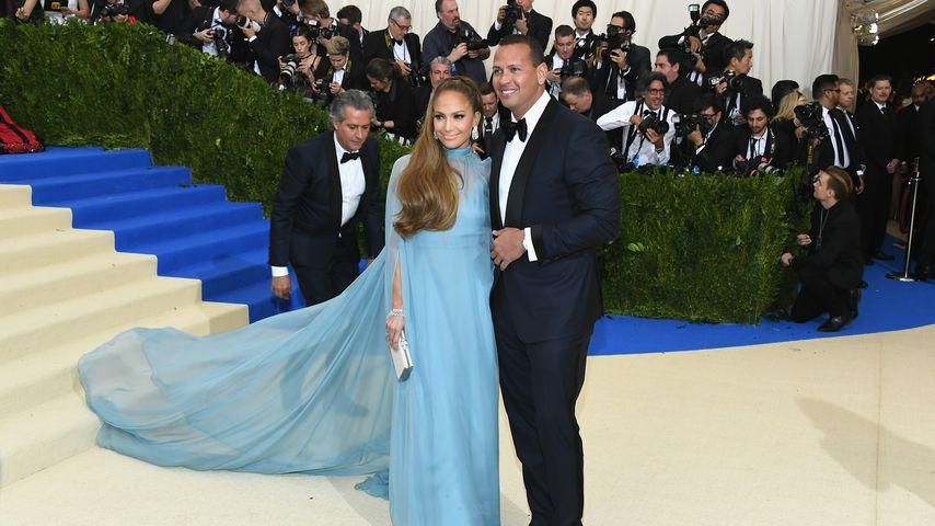 Jennifer Lopez und Alex Rodriguez, 2017
