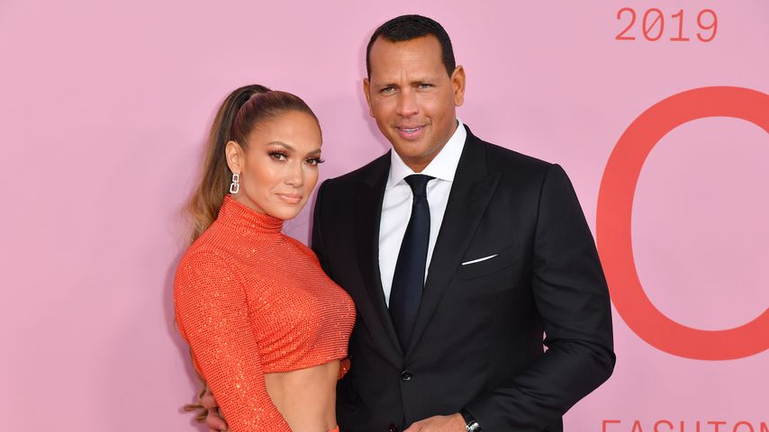 Jennifer Lopez und Alex Rodriguez in New York City