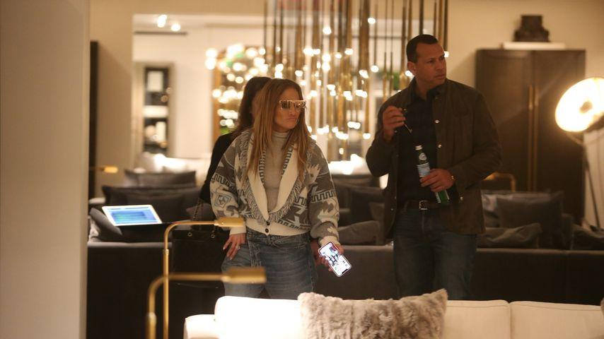 Jennifer Lopez und Alex Rodriquez