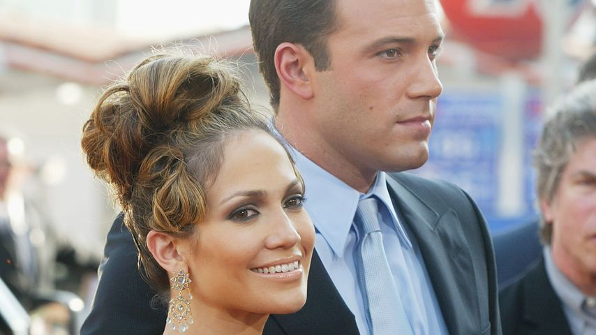 Jennifer Lopez und Ben Affleck im Jahr 2003