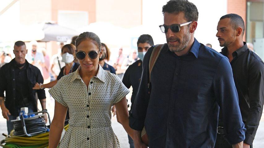 Jennifer Lopez und Ben Affleck in Venedig, September 2021