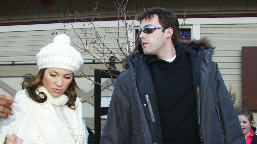 Jennifer Lopez und Ben Affleck 2003