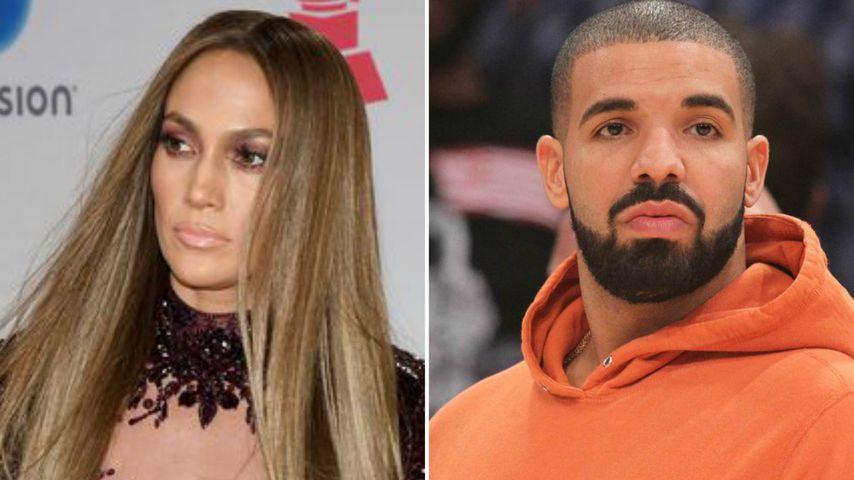 Schon alles aus mit JLo? Drake auf Date mit Porno-Model!