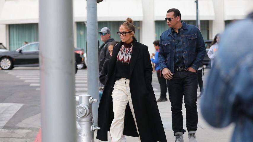 Jennifer Lopez und ihr Mann Alex Rodriguez