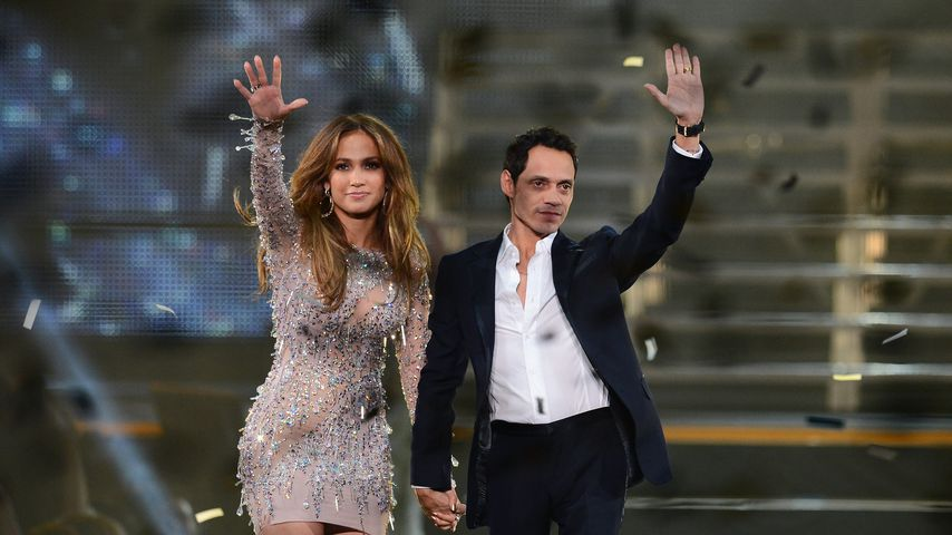 Jennifer Lopez und Marc Anthony beid Q'Viva! The Chosen Live 2012
