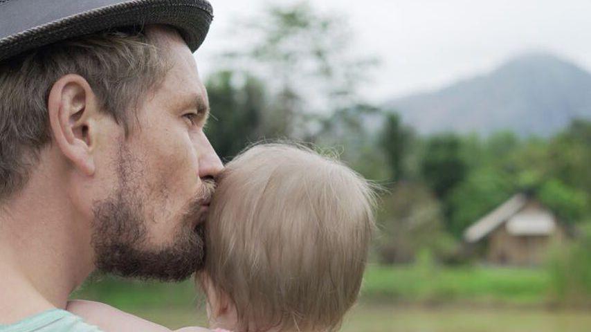 Jens Ackermann und Töchterchen Ella