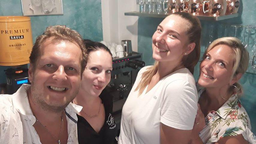 Danielas Tochter: Joelina jobbt jetzt im Jens-Büchner-Café