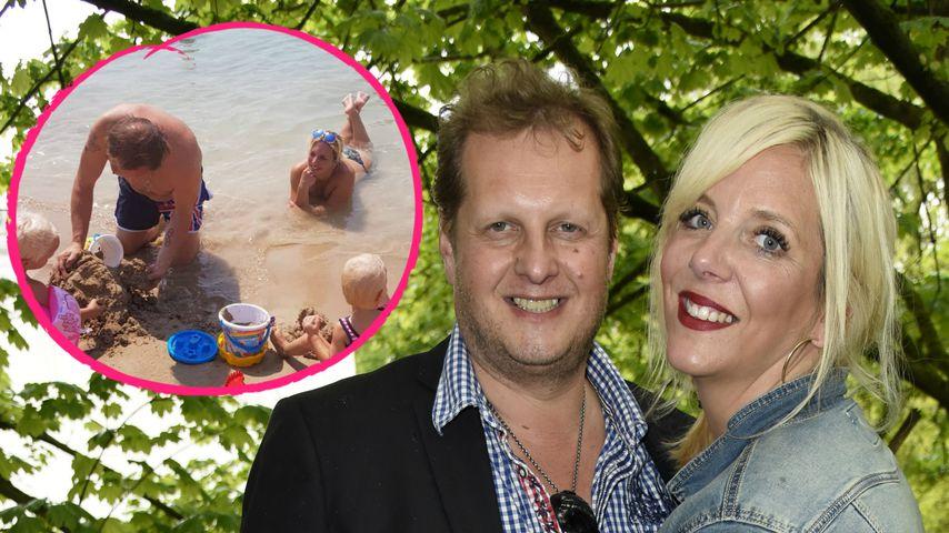 Nach Sommerhaus: Die Büchners genießen ihre Familien-Auszeit