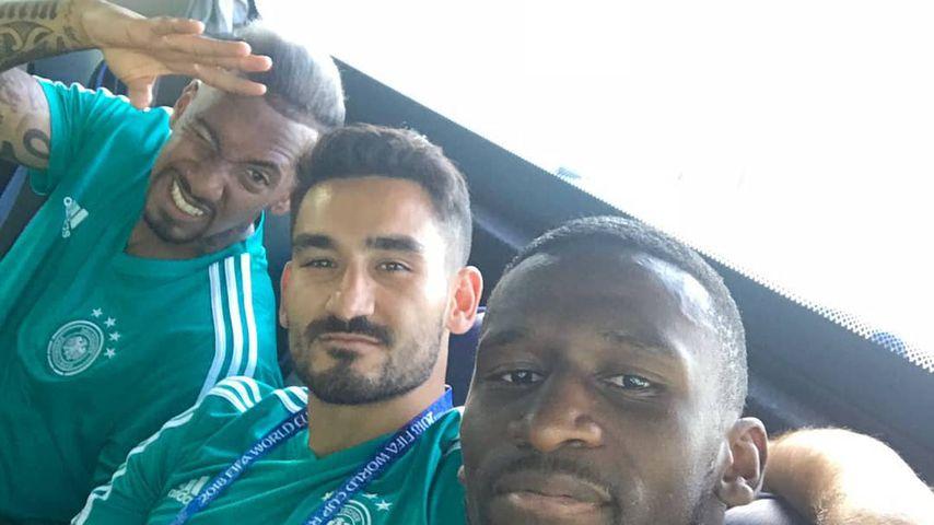 Jérôme Boateng, Ilkay Gündogan und Antonio Rüdiger