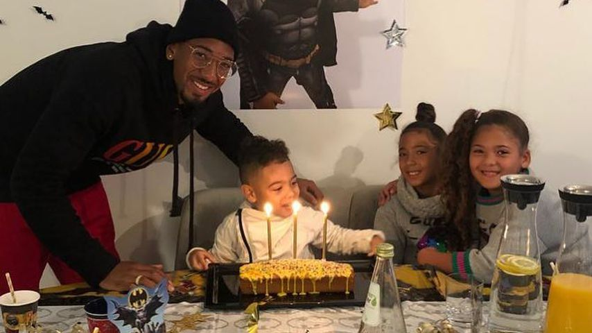 Batman-Party: So feiert Jérôme Boatengs Sohn seinen B-Day!
