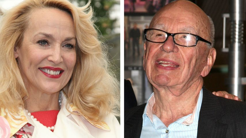 Neues Traumpaar? Jerry Hall datet Milliardär Rupert Murdoch