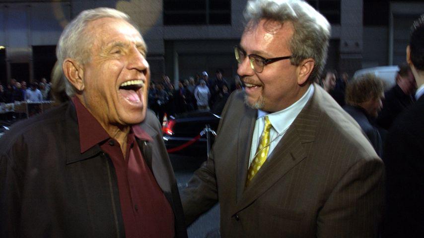 Schauspieler Jerry Van Dyke und TV-Manager Larry Jones, New York City 2002