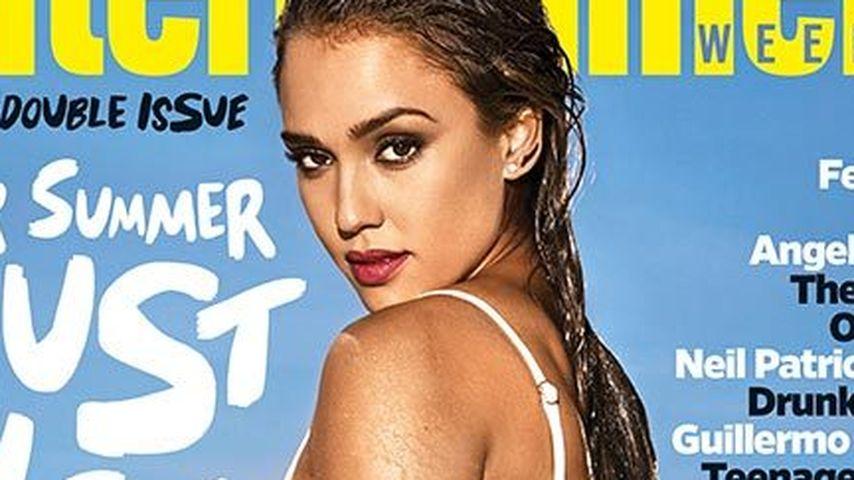 Heißes Cover! Sogar Jessica Alba braucht Abkühlung