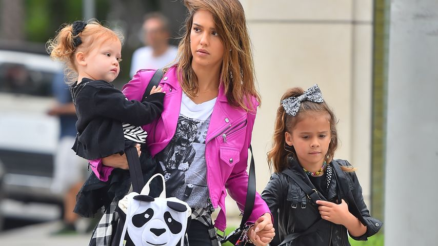 Jessica Alba, Honor Marie Warren und Haven Garner Warren