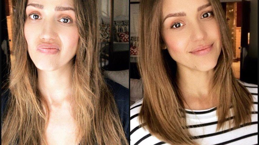 Haare ab: Jessica Alba sagt Tschüss zur Schwanger-Frisur