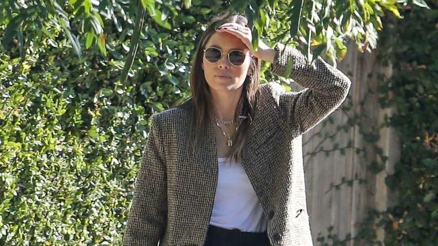 Jessica Biel in Los Angeles im November 2019
