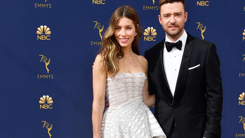 Jessica Biel und Justin Timberlake bei den Emmy Awards