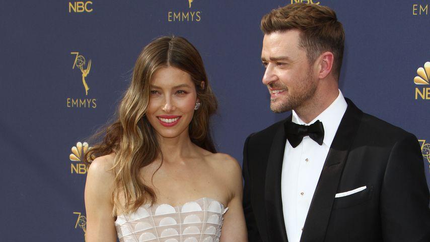 Justin Timberlake & Jessica Biel machen Emmys zur Date-Night