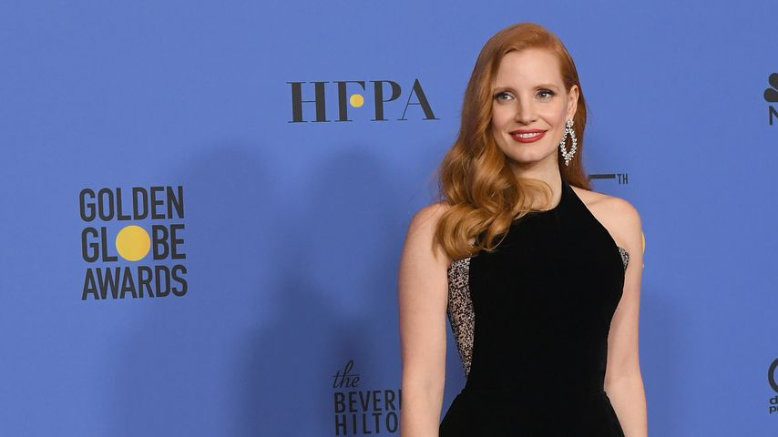 Jessica Chastain bei den Golden Globe Awards 2018
