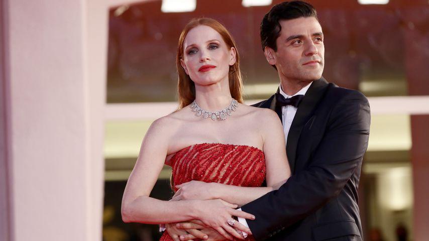 Jessica Chastain und Oscar Isaac mit Flirtshow bei Premiere
