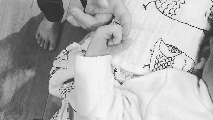 Jessica Ennis-Hills Tochter Olivia und ihr Sohn