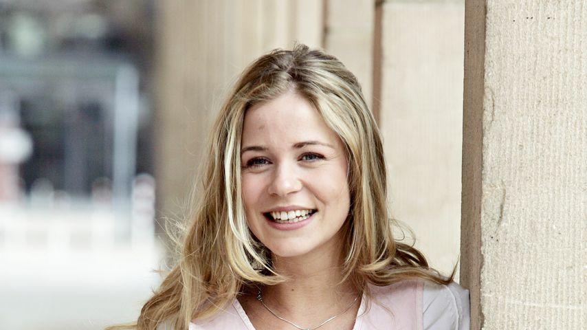 Jessica Ginkel am Set von GZSZ