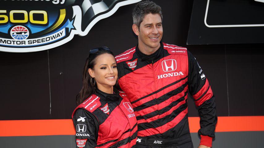 Jessica Graf und Arie Luyendyk jr. im Juni 2018