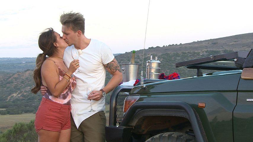 """Jessica Paszka und David Friedrich auf einem """"Bachelorette""""-Dreamdate"""