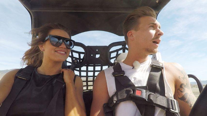 Jessica Paszka und David Friedrich beim Buggy-Date