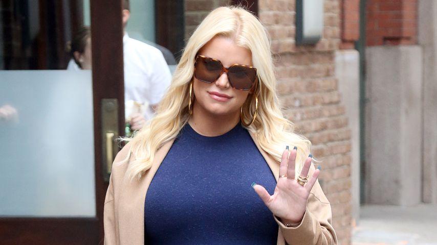 Jessica Simpson in New York City