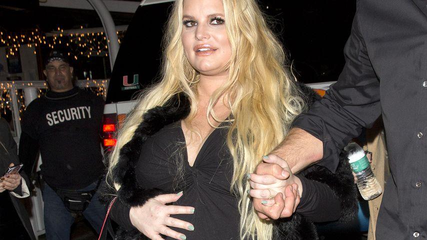 Die hochschwangere Jessica Simpson unterwegs in L.A.