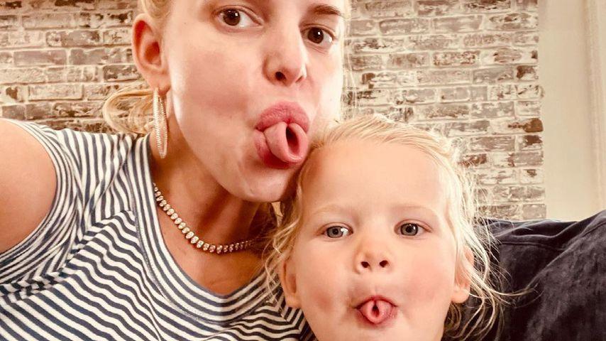 Jessica Simpson mit ihrer Tochter Birdie Mae