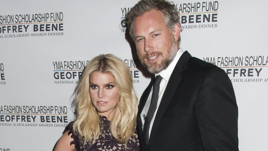 "Jessica Simpson und Eric Johnsin bei den ""YMA Scholarship Dinner and Awards"""