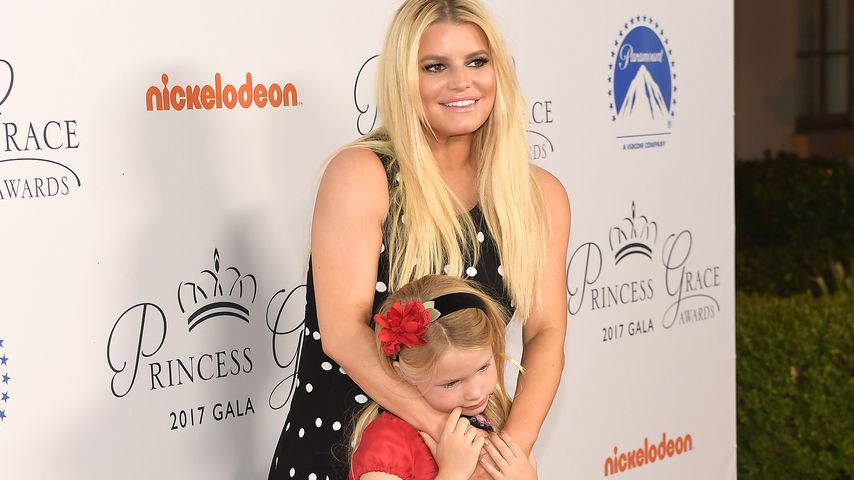Jessica Simpson und Maxwell Johnson bei dem Princess Grace Awards Gala Kick-Off Event