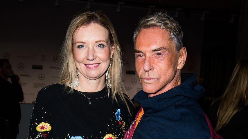Jette und Wolfgang Joop bei der Berlin Fashion Week 2017