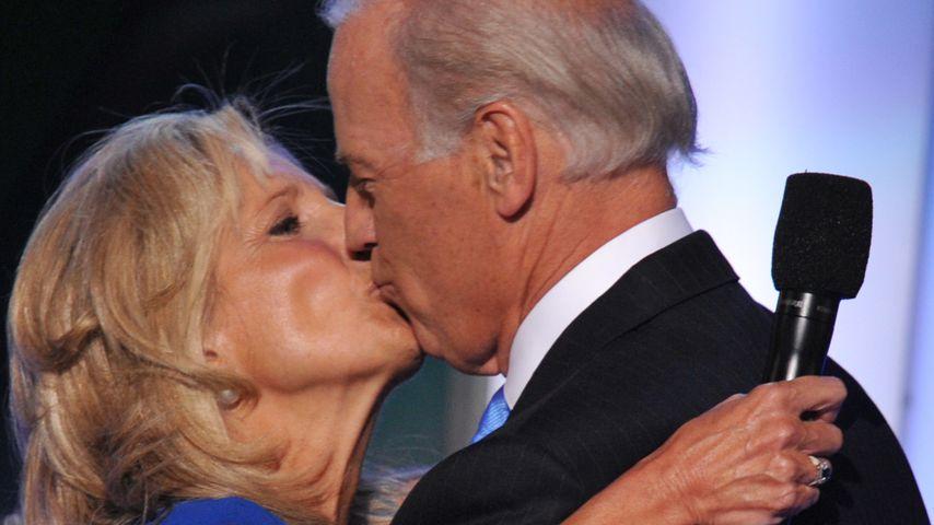 Jill und Joe Biden im August 2008