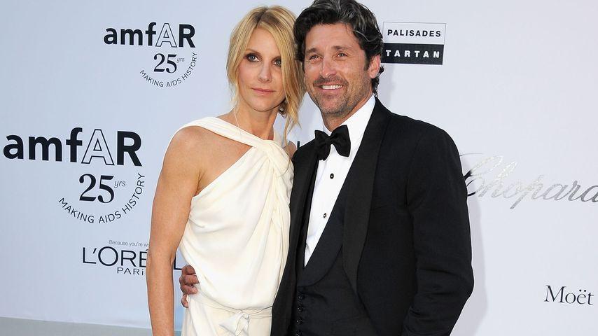 """Jillian Fink und Patrick Dempsey bei der """"amfAR's Cinema Against AIDS Gala"""""""