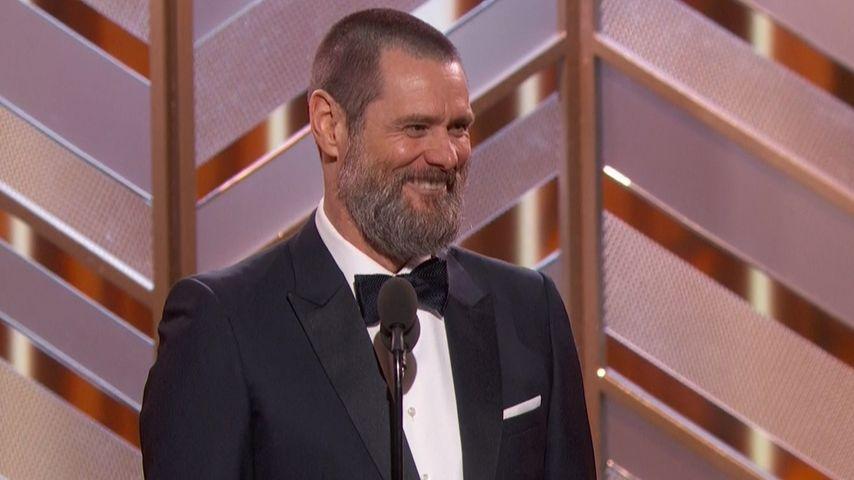 Jim Carrey bei den Golden Globes 2016