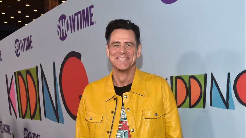"Jim Carrey bei der Premiere von ""Kidding"" in Los Angeles im September 2018"
